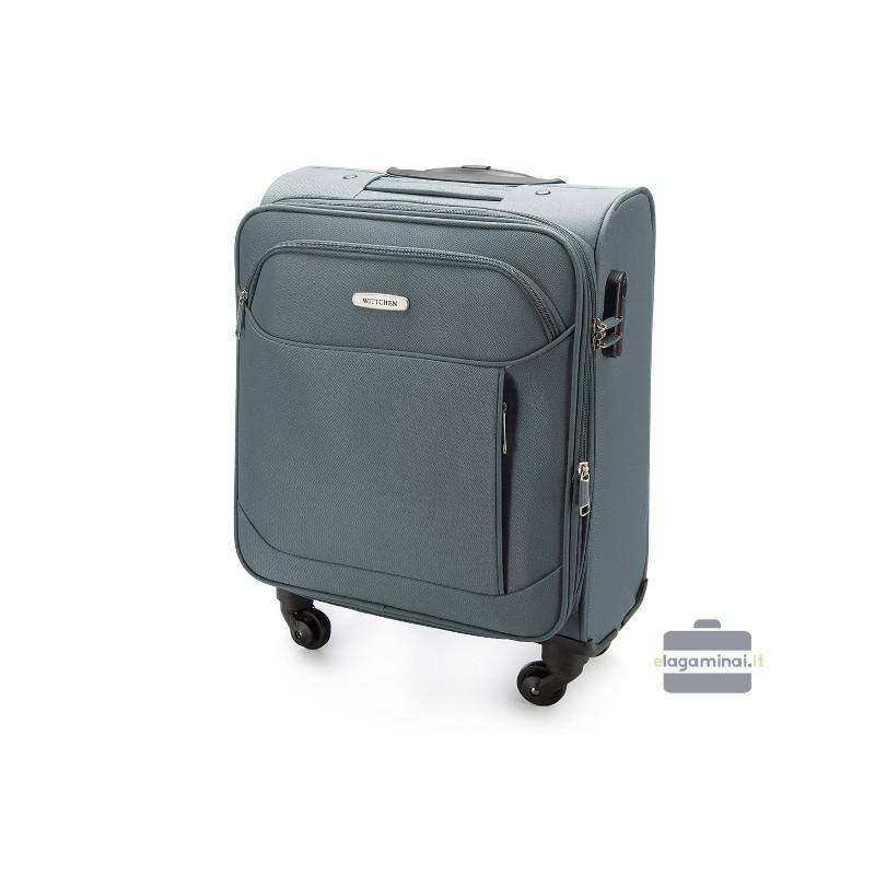 Rokas bagāža koferis Wittchen V25-3S-521-M pelēks