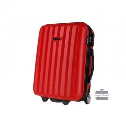 Rokas bagāža koferis Bagia 514-M sarkans