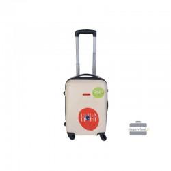 Rokas bagāža koferis Gravitt 310-M cream krāsa