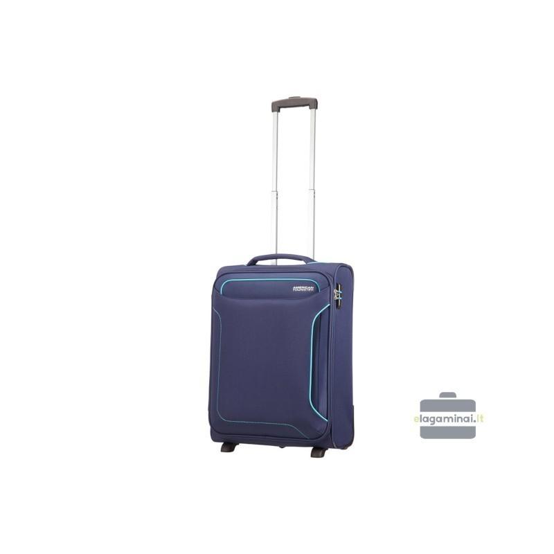 Rokas bagāža koferis American Tourister Holiday Heat M tumšs zils