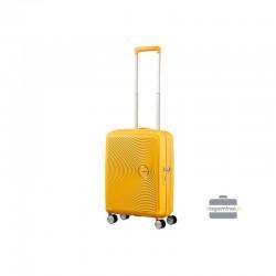 Rokas bagāža koferis American Tourister Soundbox M dzeltens