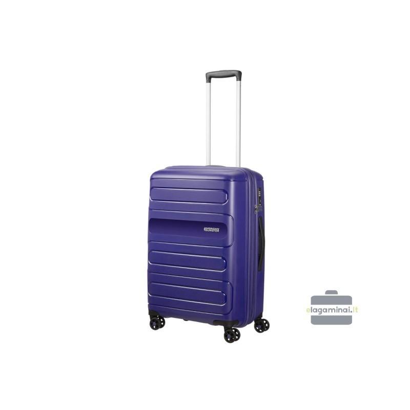 Vidējais koferis American Tourister Sunside V zils