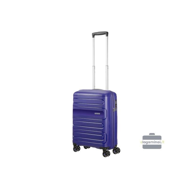 Rokas bagāža koferis American Tourister Sunside M zils