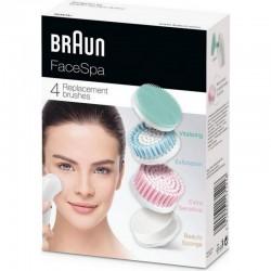 Braun Face Mix SE80mv - 4gb nomaināmas sejas tīrīšanas birstes