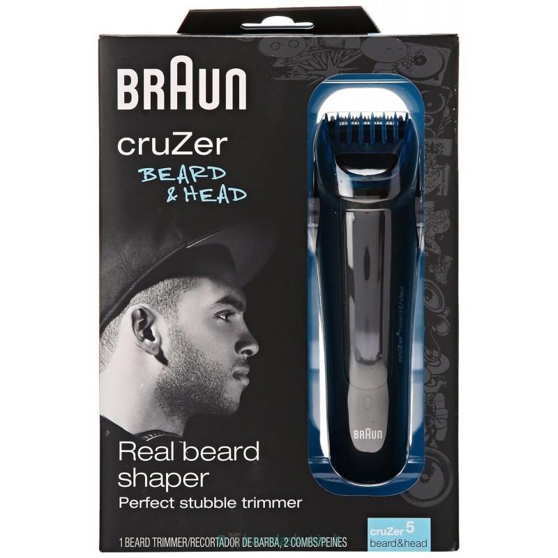 skuveklis BRAUN CRUZER 5 beard