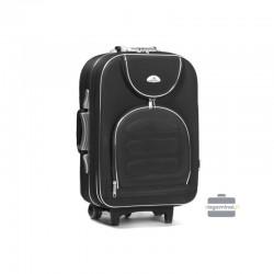 Rokas bagāža koferis Suitcase 801-M melns
