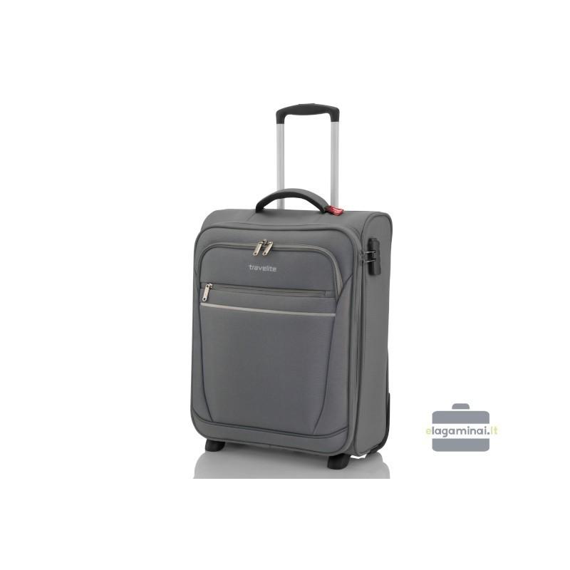 Travelite Cabin pelēks rokas bagāža koferis