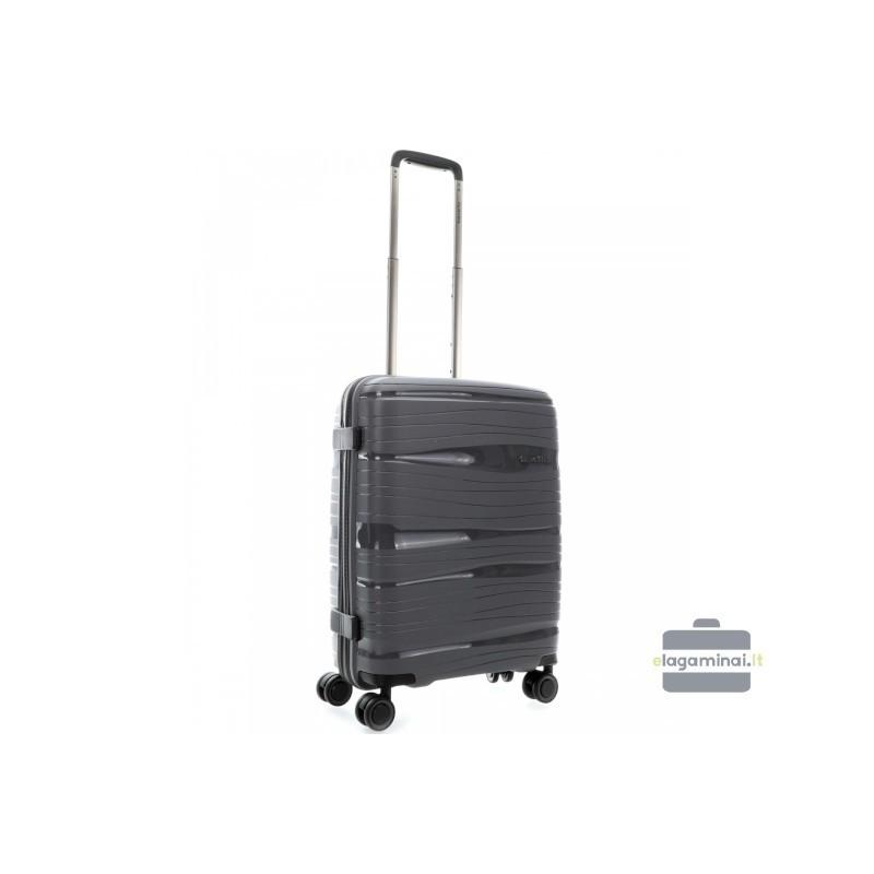Rokas bagāža koferis Travelite Motion M pelēks