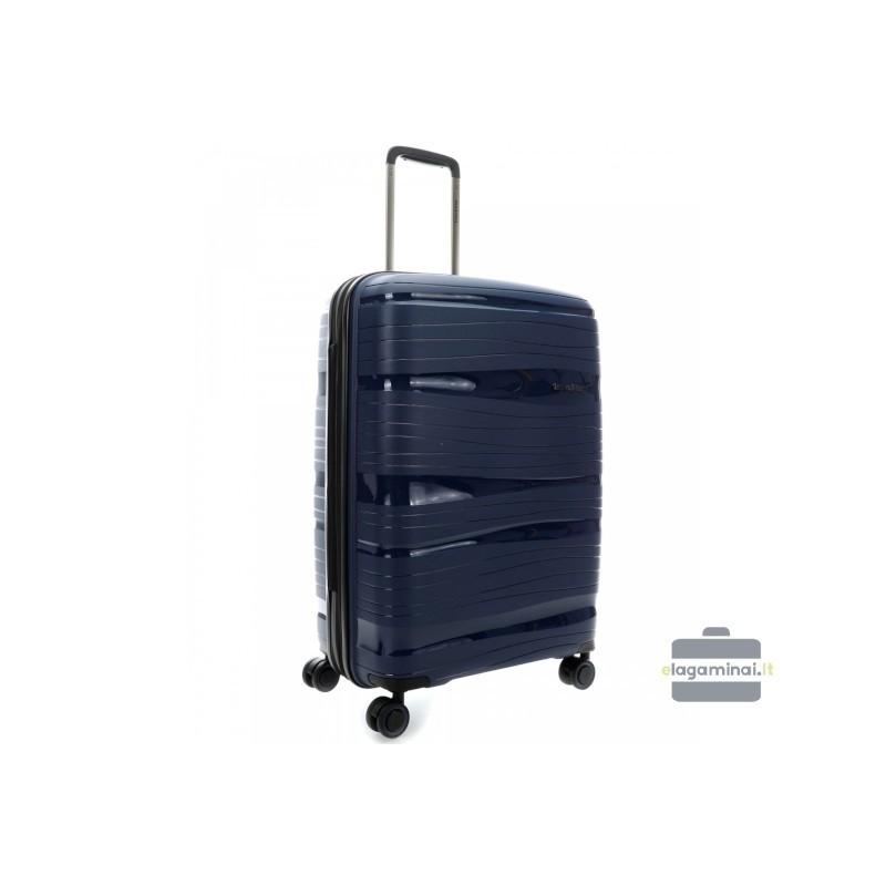 Travelite Motion V Tumši zils Vidējais koferis