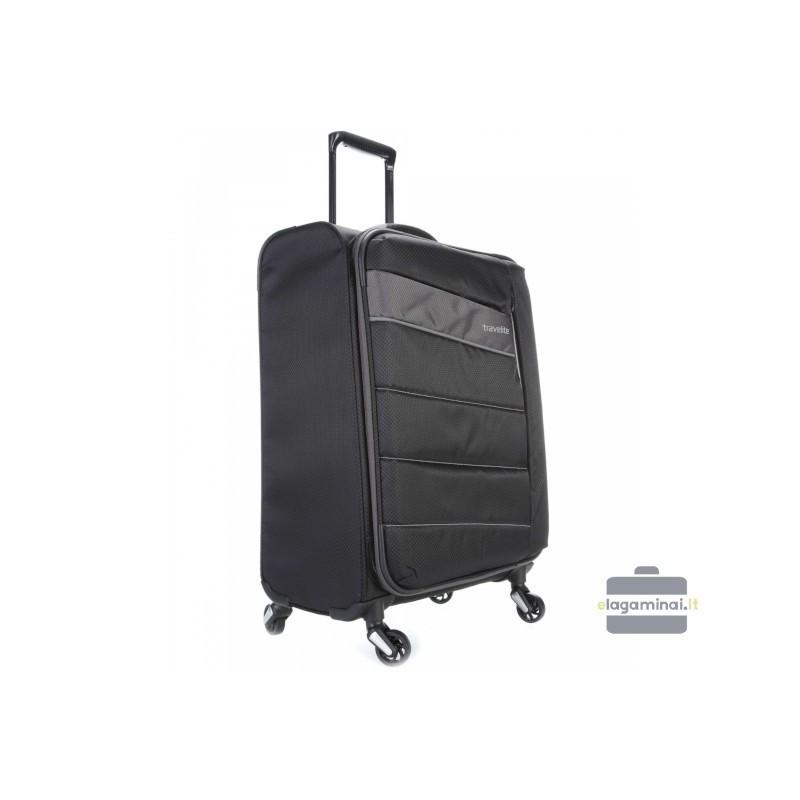 Vidējais koferis Travelite Kite V melns