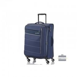 Vidējais koferis Travelite Kite V tumšs zils