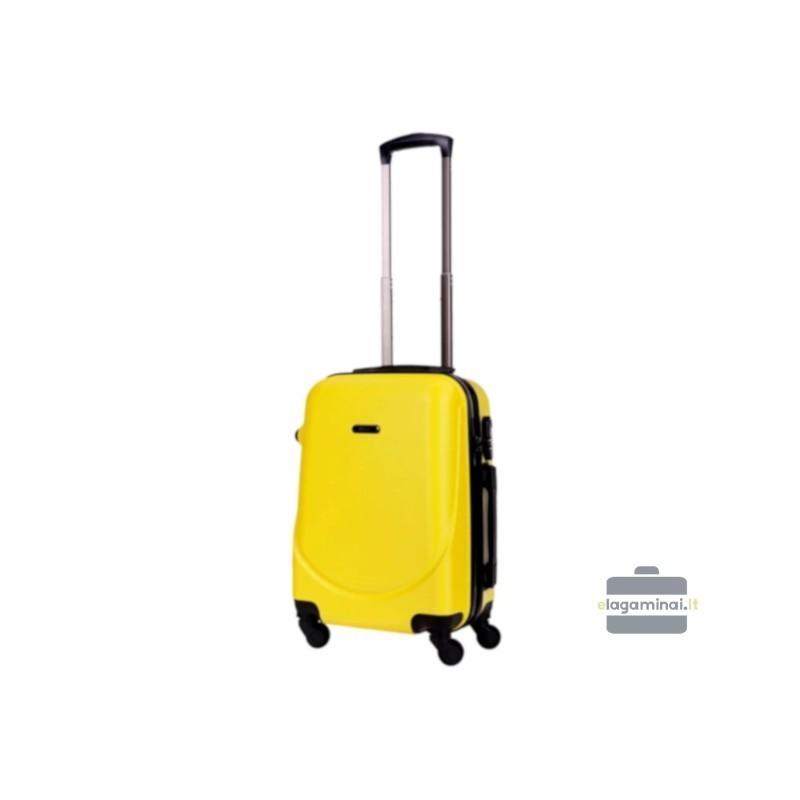 Rokas bagāža koferis Bagia 8091-M dzeltens